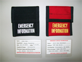 fireman identification card system